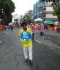 Folião curtindo o Carnaval